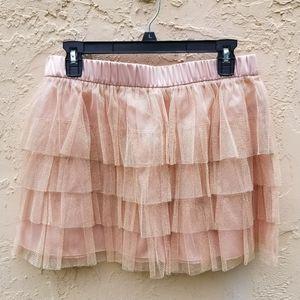 NWT tutu style mini skirt